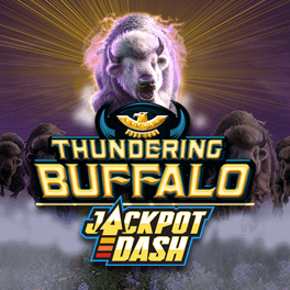 Login or Register to play Thundering Buffalo Jackpot Dash