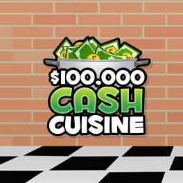 Login or Register to play Cash Cuisine