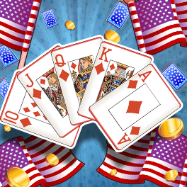 Login or Register to play American Stars Video Poker