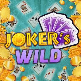 Login or Register to play Joker's Wild Video Poker