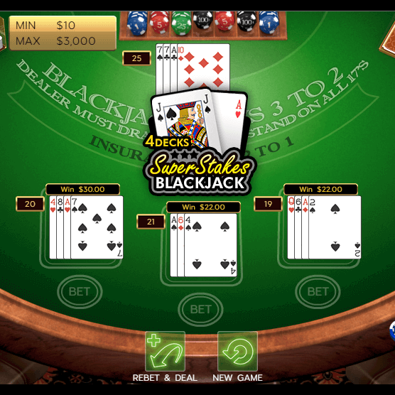 Super Stakes Blackjack