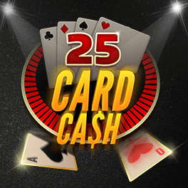 Login or Register to play 25 Card Cash