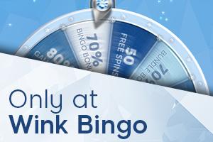 Wink Bingo VIP Wheel