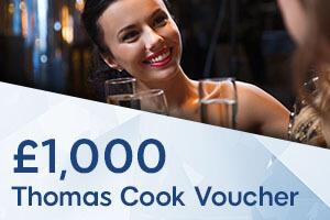 Win a £1,000 Thomas Cook Voucher!