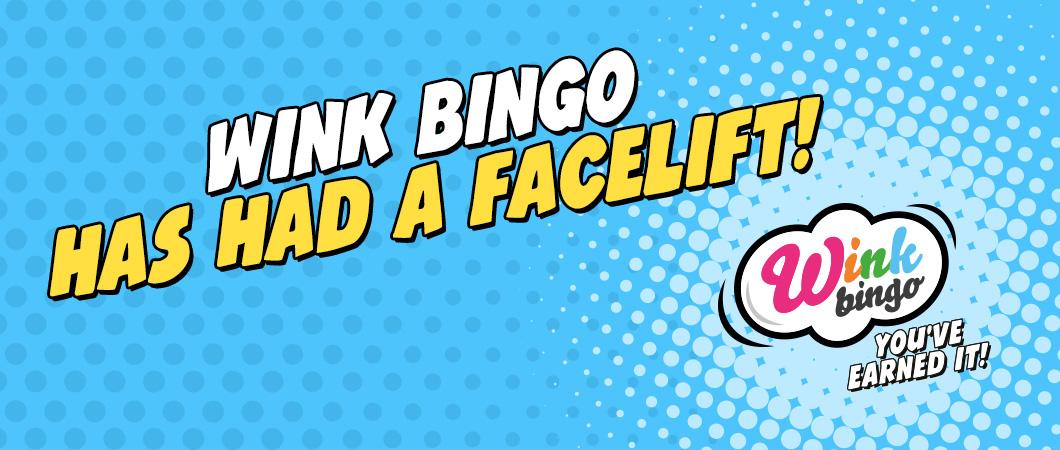 Wink Bingo has had a facelift