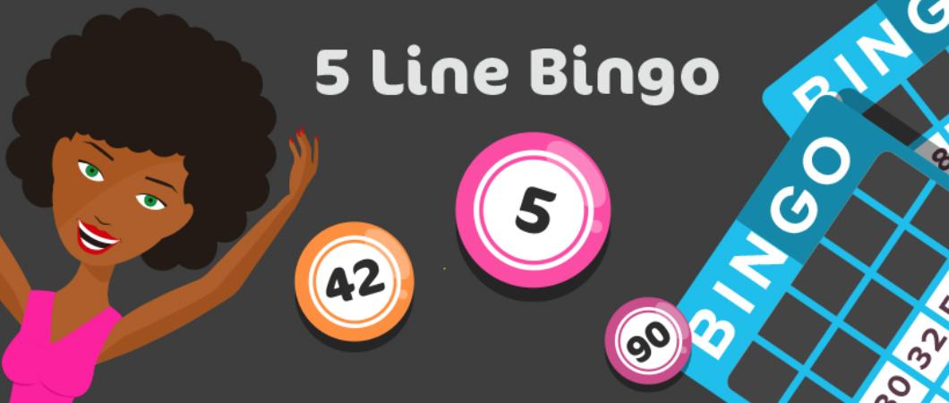 5 line bingo header
