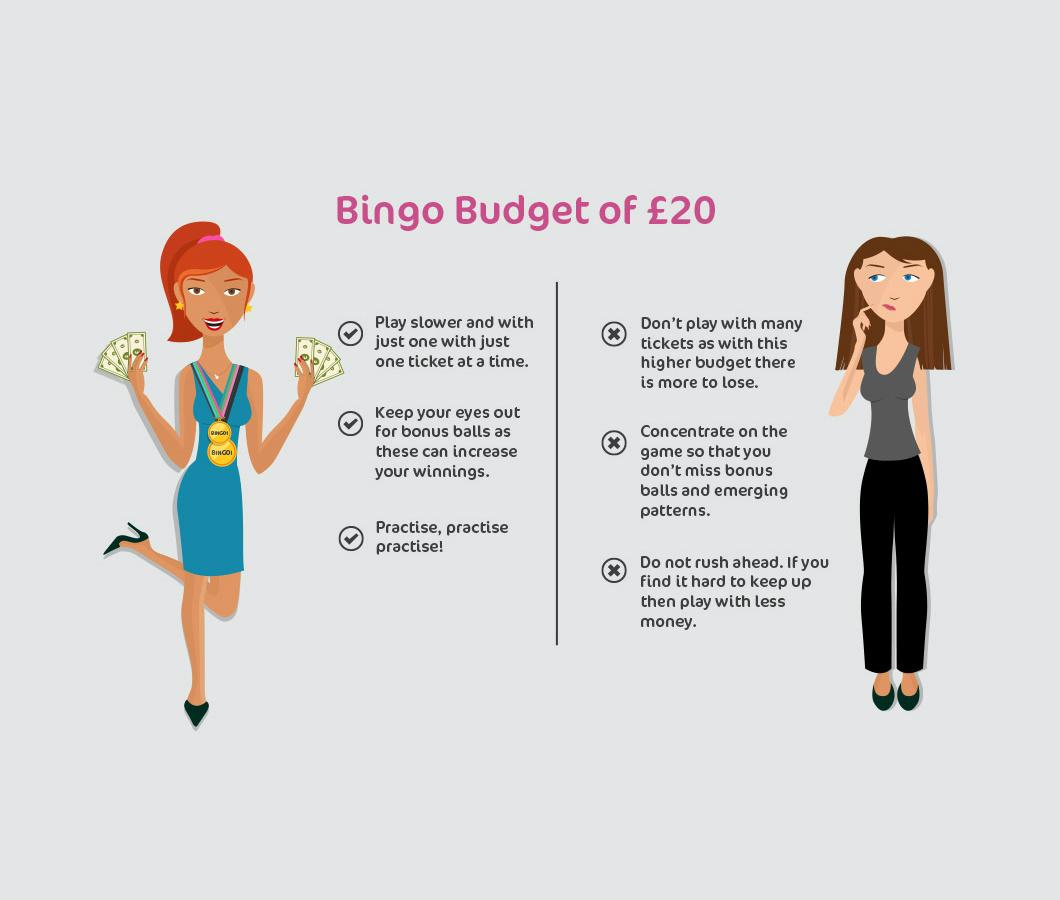 bingo budget of £20