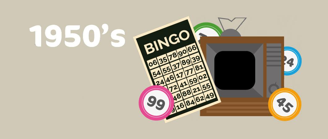 bingo in the 1950's