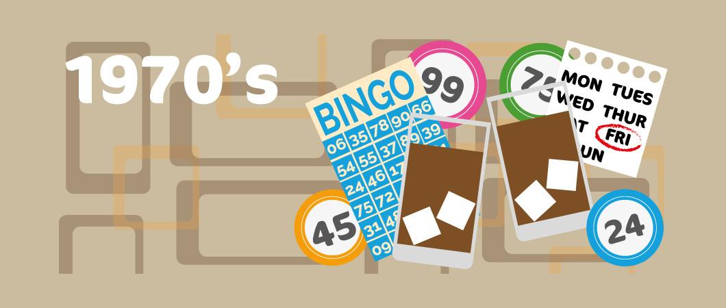 bingo in the 1970's