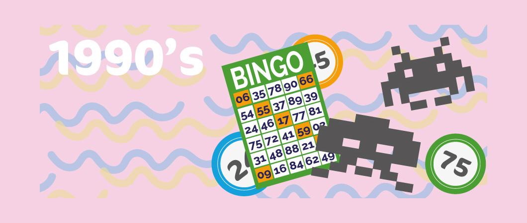 bingo in the 1990's