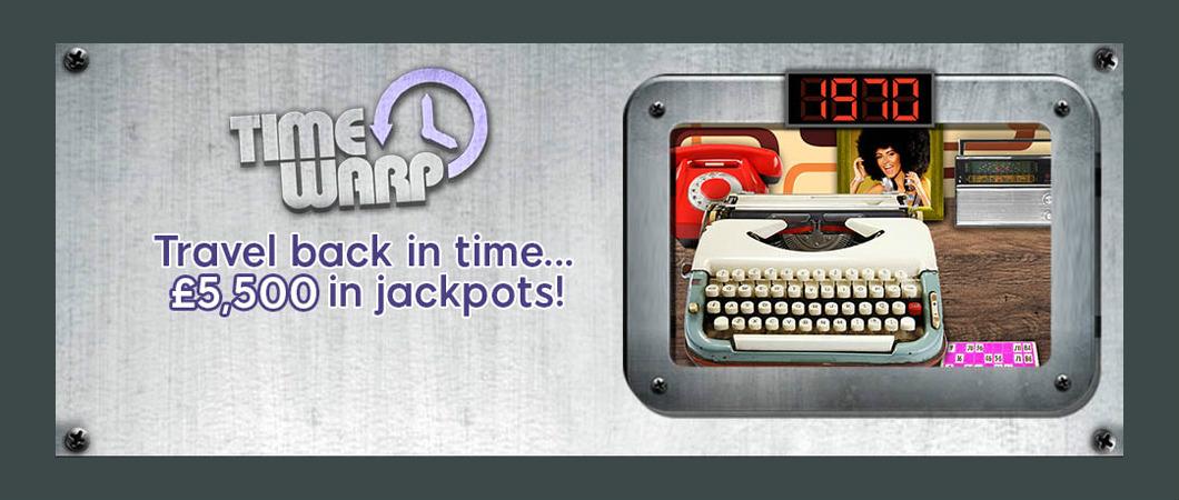 wink bingo timewrap promotion