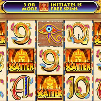 cleopatra slots win