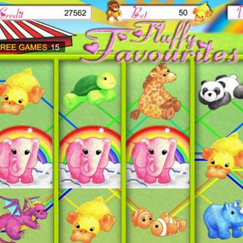 fluffy favourites bonus game
