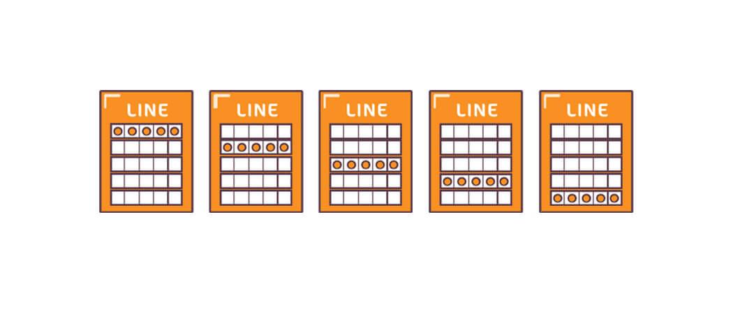 how to play 52-5 Bingo