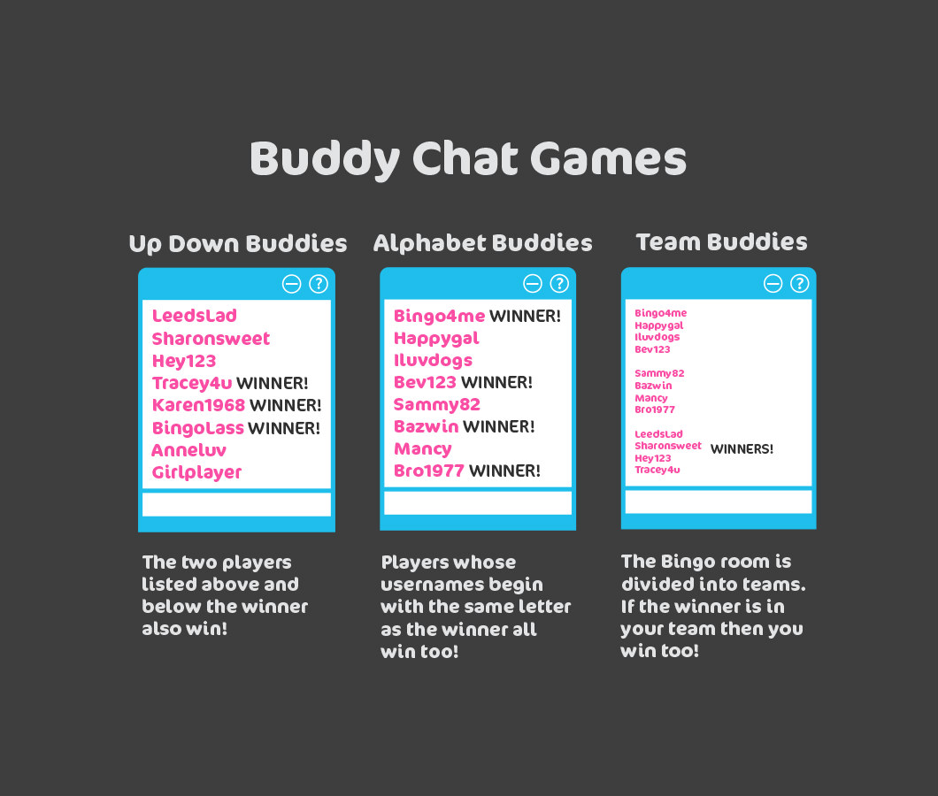 buddy bingo chat games