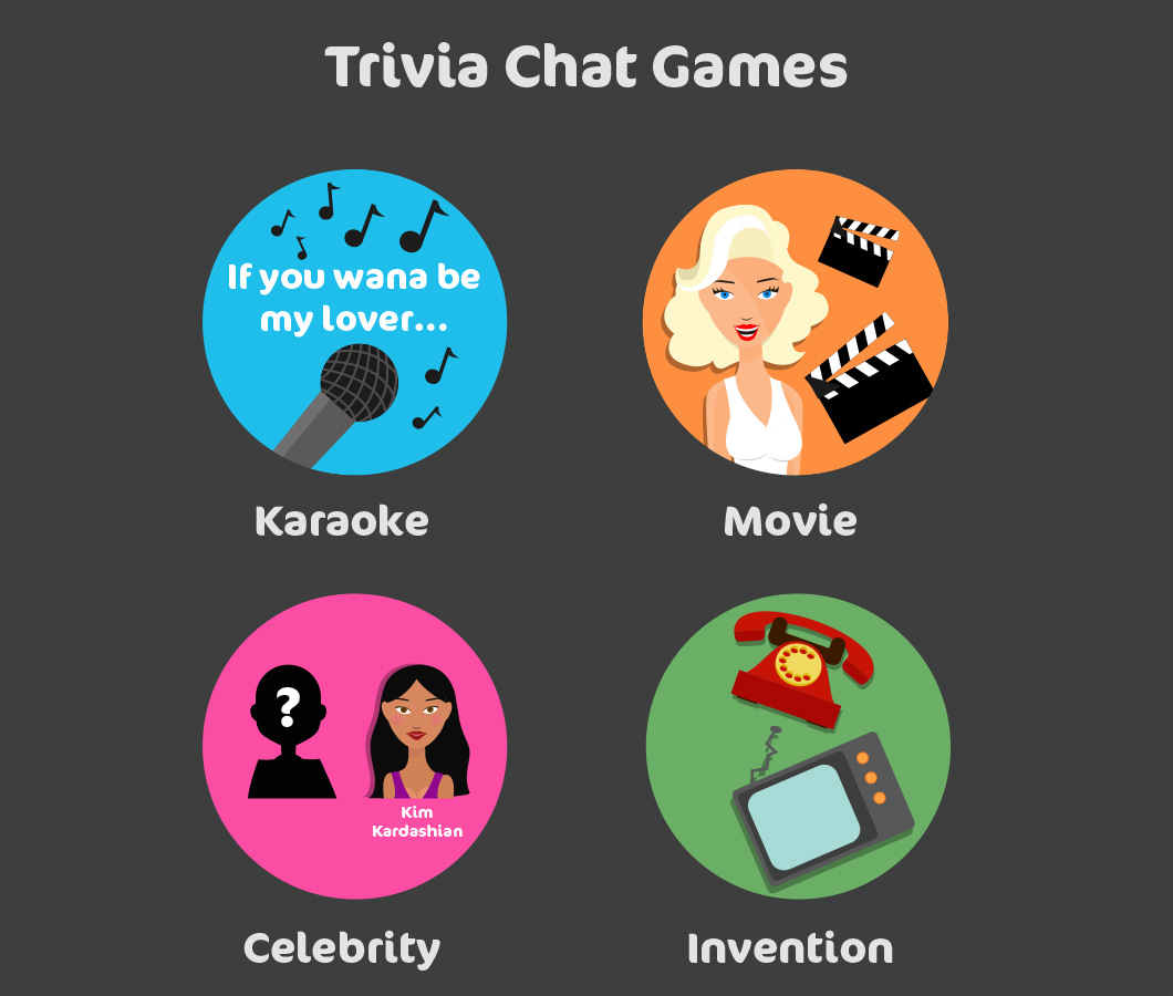 trivia bingo chat games