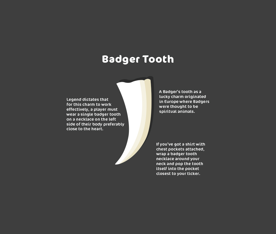 badger tooth