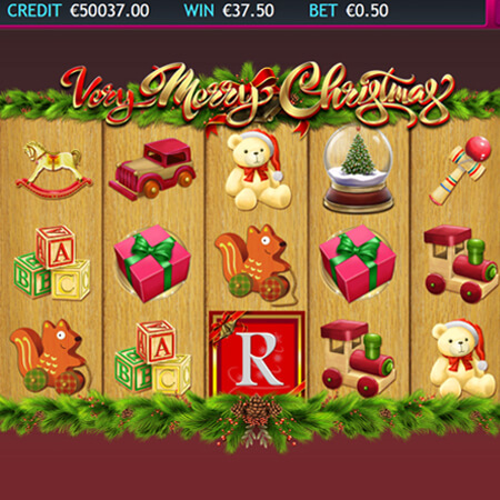 very merry christmas slot