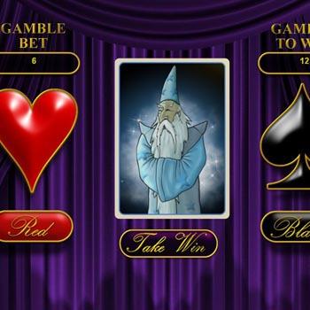 white wizard bonus game