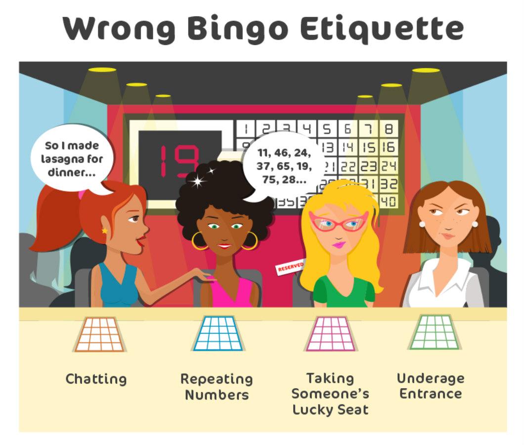 bingo etiquette wrong