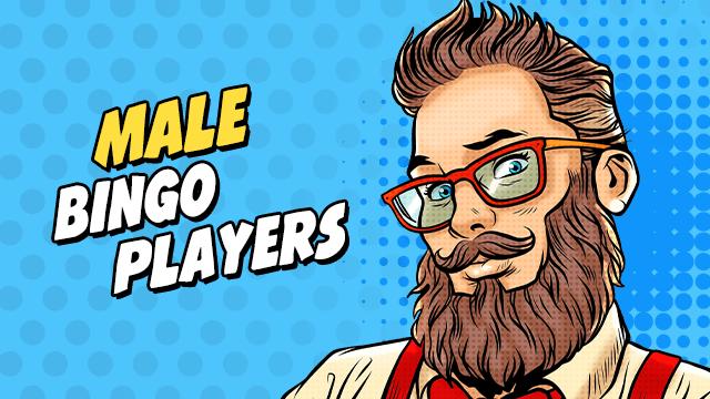 male bingo players